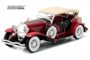 GREENLIGHT 12995 1:18 DUESENBERG II SJ - RED AND BLACK