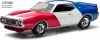 GREENLIGHT 29805 1:64 AMC JAVELIN AMX 1971 RED, WHITE AND BLUE