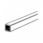 KS 8150 3/32PULG OUTSIDE DIAMETER SQUARE BRASS TUBE