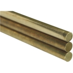 KS 8159 .020 DIAMETER SOLID BRASS ROD