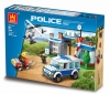 GIGATOYS 52016 FOREST POLICE DEPARTMENT   (411 PCS)