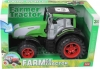 GIGATOYS 0488-153A FARMER TRACTOR RED-GREEN(BRIGHT WHEELS WITH LIGHT)