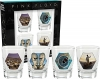 AQUARIUS 49010 PINK FLOYD SERIES 2 4-PACK SHOT GLASS SET
