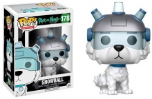 FUNKO 12445 POP! ANIMATION: RICK AND MORTY - SNOWBALL
