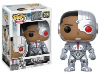 FUNKO 13487 POP! MOVIES: / DC - JUSTICE LEAGUE - CYBORG