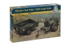 ITALERI 229 TANK 250GALS AND CARGO M101 TRAILERS 1:35