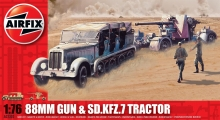 AIRFIX 02303 88 MM GUN AND TRACTOR 1:72