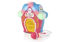 SINGINMACHINE SMK470 BLUETOOTH CANDY HOUSE SING-ALONG W/MICROPHONE
