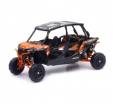 NEWRAY 57843A 1:18 POLARIS RZR XP 4 TURBO EPS - SPECTRA ORANGE