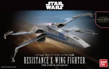 BANDAI 202289 STAR WARS 1:72 RESISTANCE X-WING STAR FIGHTER SW FRC AWKN