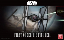 BANDAI 203218 STAR WARS 1:72 FIRST ORDER TIE FIGHTER SW FORCE AWKNS