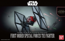 BANDAI 203219 STAR WARS 1:72 FIRST ORDER SPECIAL FORCES TIE FIGHTER