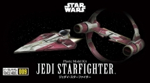 BANDAI 16383 STAR WARS VEHICLE MODEL 006 JEDI STAR FIGHTER