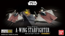 BANDAI 17623 STAR WARS VEHICLE MODEL 010 A WING STAR FIGHT