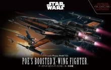 BANDAI 19752 STAR WARS 1:72 POES BOOSTED X-WING FIGHTER