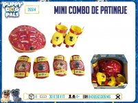 BSAL 26514 PDP MINI COMBO DE PATINAJE PUPPY DOG PALS