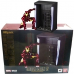 BANDAI 14345 S.H.FIGUARTS IRON MAN MARK VI AND HALL OF ARMOR SET