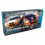 SCALEXTRIC C1372P BTCC TOURING CAR BATTLE (BMW 1 SERIES VS HONDA CIVIC)