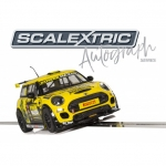 SCALEXTRIC C3742AE AUTOGRAPH SERIES BMW MINI COOPER F56 – HARRY VAULKHARD