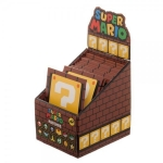 BIOWORLD 49052A SUPER MARIO BROS IRON-ON PATCH DISPLAY CASE
