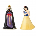 ENESCO 60010 SNOW WHITE AND EVIL QUEEN SALT AND PEPPER SHAKER SET