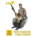 HAT 8263 1:72 WWII RUSSIAN TANK RIDERS (44)