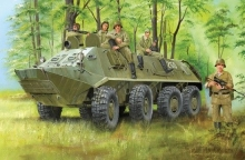 TRUMPETER 1543 1:35 RUSSIAN BTR60PA ARMORED PERSONNEL CARRIER