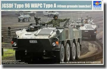TRUMPETER 1557 1:35 JGSDF TYPE 96 WAPC A ARMORED PERSONNEL CARRIER