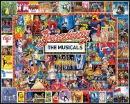 WHITEMOUNTAIN 1094 BROADWAY MUSICALS COLLAGE PUZZLE (1000PC)