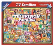 WHITEMOUNTAIN 1124 TELEVISION FAMILIES COLLAGE PUZZLE (1000PC)