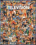 WHITEMOUNTAIN 270 TV HISTORY CELEBRITIES & SHOWS COLLAGE PUZZLE (1000PC)