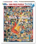 WHITEMOUNTAIN 409 ROCK N ROLL ARTISTS FROM LAST 50 YEARS COLLAGE PUZZLE (1000PC)