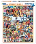 WHITEMOUNTAIN 868 THE 1980S EVENTS & FAMOUS PEOPLE COLLAGE PUZZLE (1000PC)
