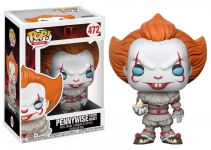 FUNKO 20176 POP! MOVIES: / IT - PENNYWISE W/ BOAT