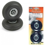 DUBRO 175SL 1-3/4 PULG. SUPER LITE WHEELS (45MM) (1 PAIR PER CARD)