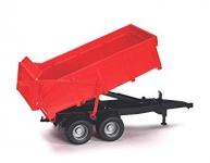 BRUDER 02211 TIPPING TRAILER (RED)