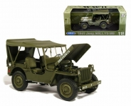 WELLY 18055 1:18 1/4 TON US ARMY TRUCK 191941