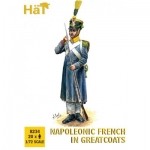 HAT 8234 1:72 NAPOLEONIC FRENCH IN GREATCOATS (20)
