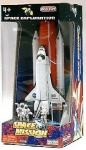 REALTOY 38921 SPACE SHUTTLE W/BOOSTER & ASTRONAUTS DIE CAST PLAYSET