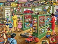 WHITEMOUNTAIN 1152 THE TOY STORE PUZZLE (1000PC)