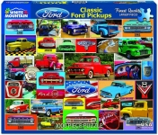 WHITEMOUNTAIN 1411 CLASSIC FORD PICKUPS COLLAGE PUZZLE (1000PC)