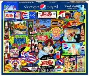 WHITEMOUNTAIN 1436 VINTAGE PEPSI COLLAGE PUZZLE (1000PC)