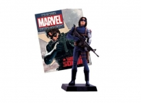 MAGAZINE MBCUK024 1:21 WINTER SOLDIER CLASSIC MARVEL FIGURINE