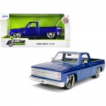 JADA 30287 1:24 1985 CHEVY C/10 CANDY BLUE