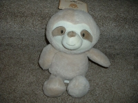 KELLY BY18021SL 12PULG BB SLOTH W CRINKLE & RATTLE EA