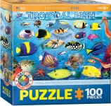 EUROGRAPHICS 6100-5484 TROPICAL FISH 100 PIEZAS PUZZLE