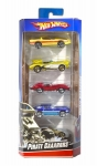 MATTEL 1806 HOT WHEELS SET PACK 5 U