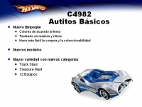 MATTEL C4982 HOT WHEELS SURTIDO AUTOS BASICOS