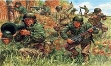 ITALERI 6046 1:72 WWII AMERICAN INFANTRY 2ND DIVISION