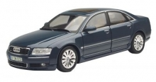 MOTORMAX 73149 1:18 2004 AUDI A 8 4-DOOR BLUE OR SILVER